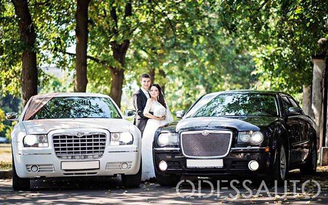 Аренда Chrysler 300c на свадьбу Одесса
