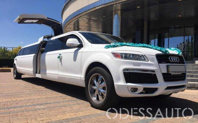 Аренда Лимузин Audi Q7 на свадьбу Одеса