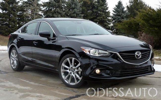 Аренда Mazda 6 New на свадьбу Одесса