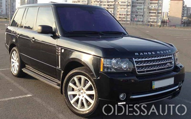 Аренда Range Rover Vogue на свадьбу Одесса