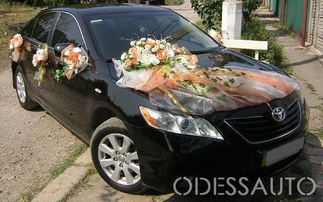 Аренда Toyota Camry 40 на свадьбу Одесса