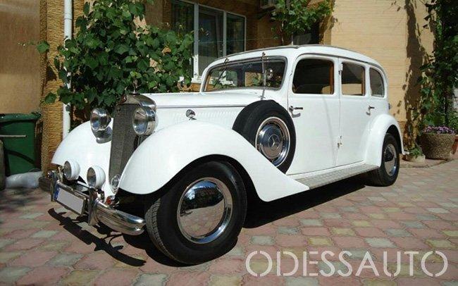 Аренда Mercedes Pullman 230 1937 года на свадьбу Одесса