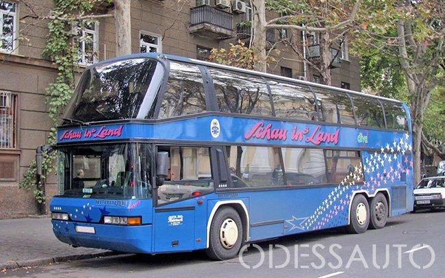Аренда Автобус Neoplan 122 на свадьбу Одесса