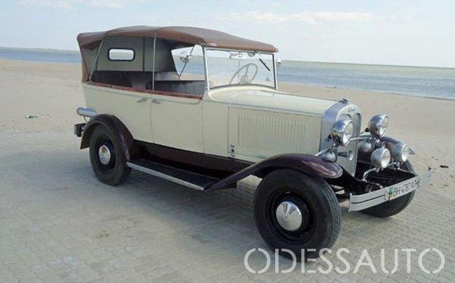 Аренда Ford А 1932 на свадьбу Одесса