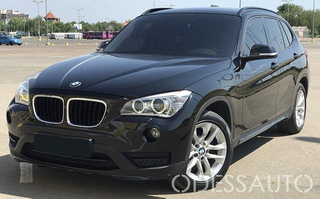 Аренда BMW X1 на свадьбу Одесса