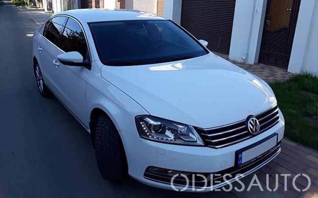 Аренда Volkswagen Passat B7 на свадьбу Одесса