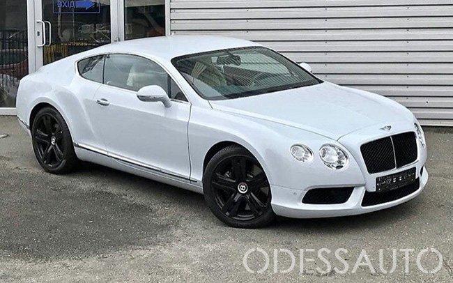 Аренда Bentley Continental на свадьбу Одесса