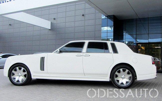 Аренда Rolls Royce Ghost Replica на свадьбу Одесса