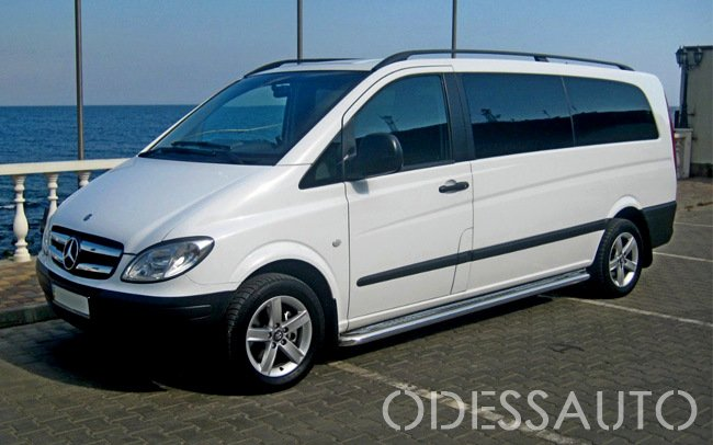 Аренда Микроавтобус Mercedes Vito на свадьбу Одесса