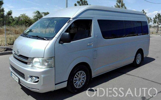 Аренда Микроавтобус Toyota Hiace на свадьбу Одесса