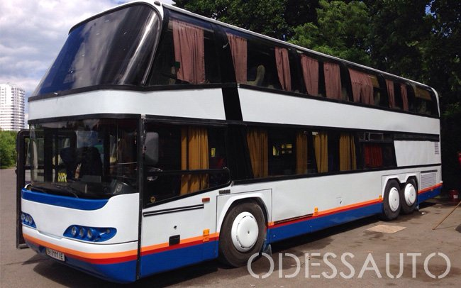 Аренда Автобус Neoplan 74 места на свадьбу Одесса
