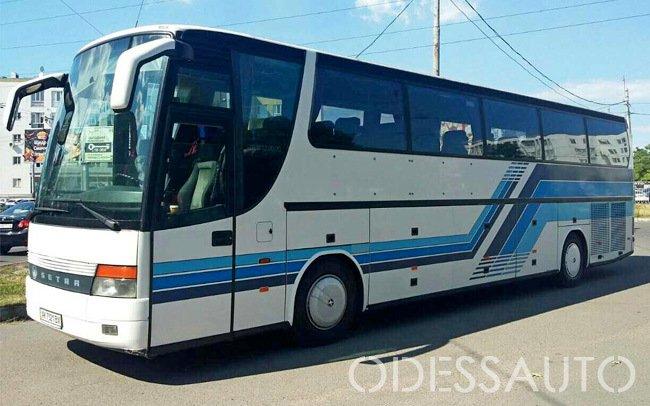Аренда Автобус Setra 51 место на свадьбу Одесса