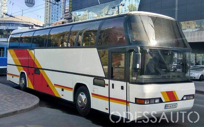 Аренда Автобус Neoplan 51 место на свадьбу Одесса