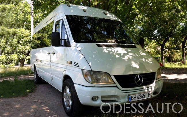Аренда Микроавтобус Mercedes Sprinter на свадьбу Одесса