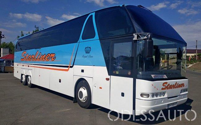 Аренда Автобус Neoplan Starliner на свадьбу Одесса