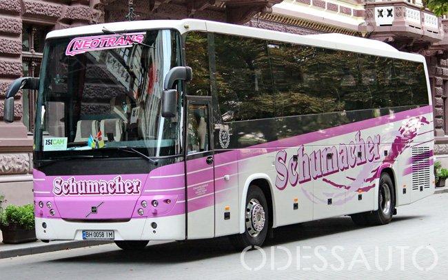 Аренда Автобус Volvo 9900 на свадьбу Одесса