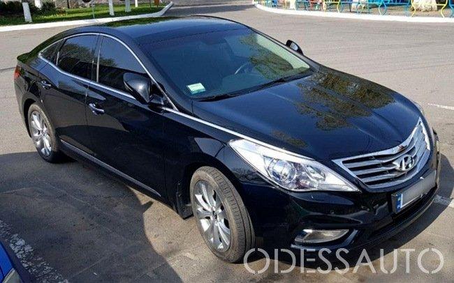 Аренда Hyundai Grandeur на свадьбу Одесса