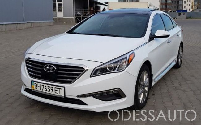 Аренда Hyundai Sonata LF Limited Edition на свадьбу Одесса