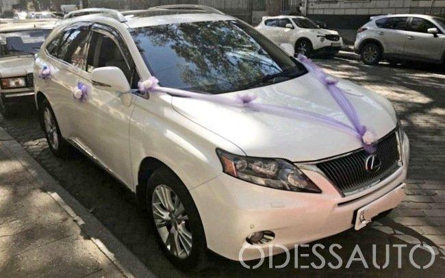 Аренда Lexus RX 350 на свадьбу Одесса