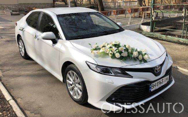 Аренда Toyota Camry 70 на свадьбу Одесса