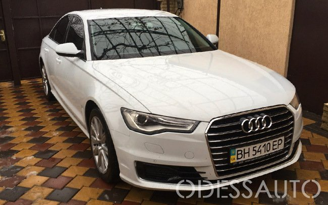 Аренда Audi A6 на свадьбу Одесса