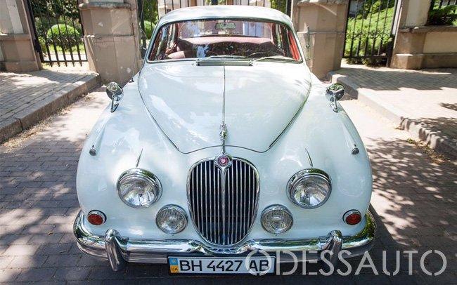 Аренда Ретро Jaguar MK2 на свадьбу Одесса