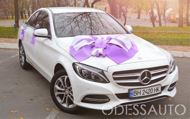 Аренда Mercedes C-Class W205 на свадьбу Одесса