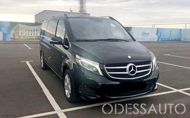 Аренда Микроавтобус Mercedes V-Class на свадьбу Одесса